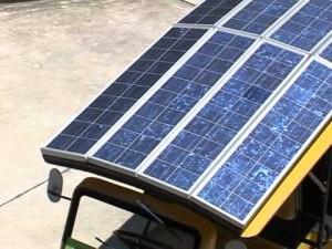 solar pannel tuk tuk